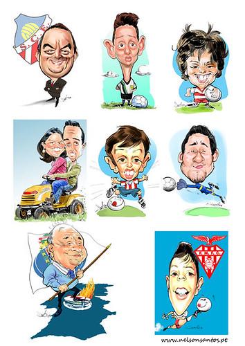 Encomendas by caricaturas