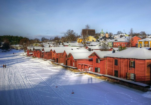 old winter finland lens town europe colours village view angle sony north wide sigma super historic freeze alpha 1020mm scandinavia 77 slt porvoo lenses a77
