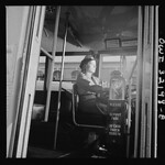 A Woman Operates DC Streetcar: 1943