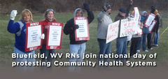 RNs to Picket Ohio, West Virginia, and California Community Health Systems Hospitals March 19