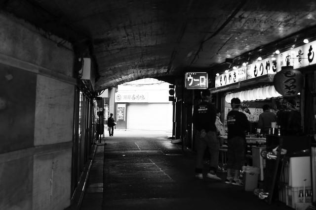 ガード下. Yurakucho Tokyo, Mar 2013. 042