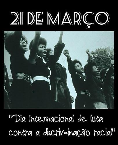 Dia Internacional de Luta Contra a Discriminação Racial   by Biblioteca Abdias Nascimento