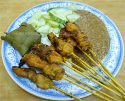 Sate Kajang Haji Samuri - http://esdelima.blogspot.com