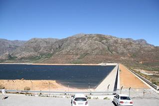 Staumauer Berg River Dam