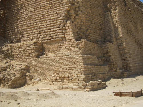 Step Pyramid of Djoser, designed by Imhotep, Saqqara, Egypt by Michael Tinkler
