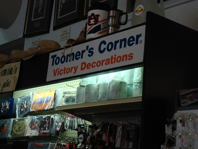 Toomer's Corner Victory Decorations