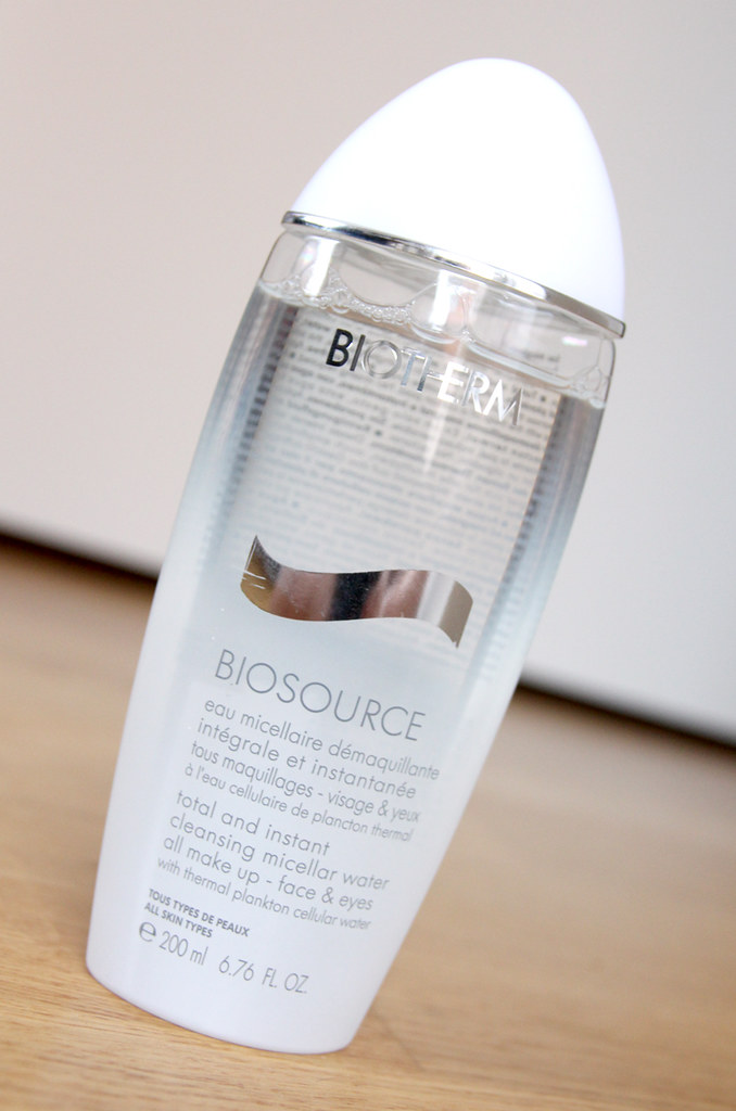 Biotherm Biosource total and instant cleansing micellar water