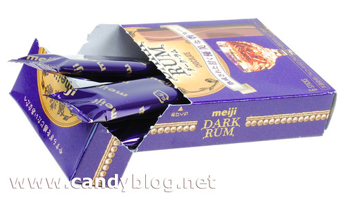 Meiji Dark Rum Milk Chocolate