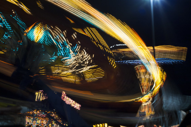 The Fair is a Blur of Lights