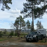 Our campsite in Cuyamaca Rancho State Park. #SanDiego #camping #mountains