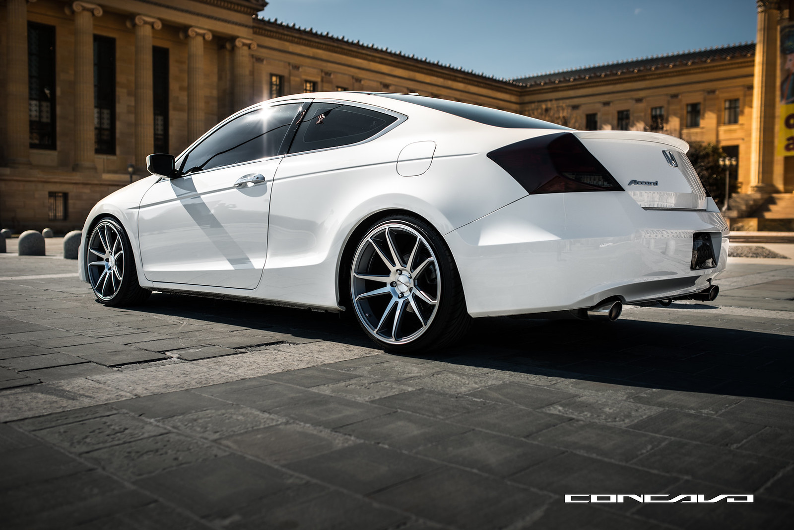 Honda Accord Coupe On 20 Quot Concavo Cw S5 Sitting Low Amp Clean