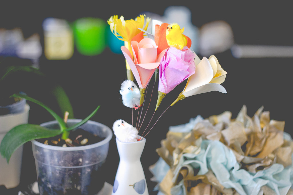 easter table decor diy