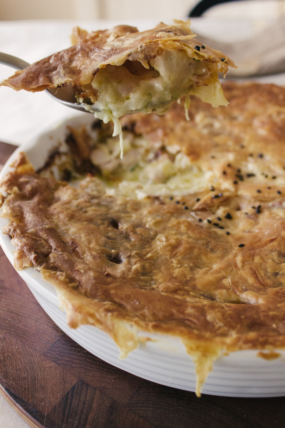 Chicken and Leek Pie by Simple Provisions