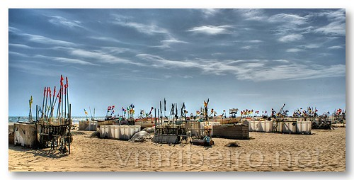 Barcos em Monte Gordo by VRfoto