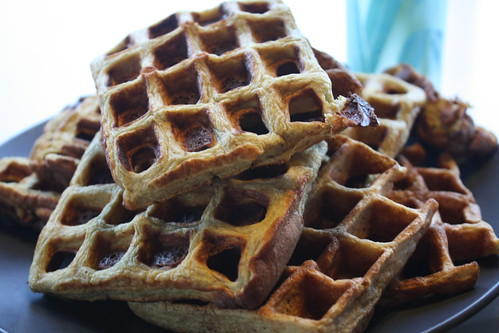 Flourless gluten free waffles.