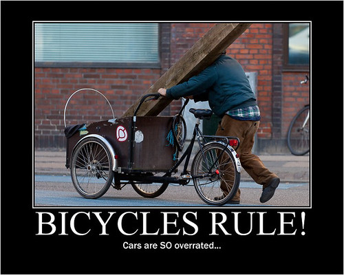 Bycyles Rule! Cars are SO overrated - Copenhagen Bikehaven by Mellbin