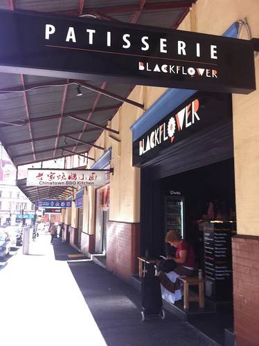 blackflower patisserie, haymarket