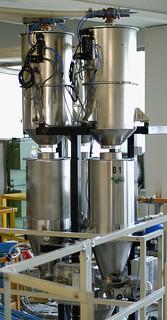 Dosatori gravimetrici per granuli e macinati plastici