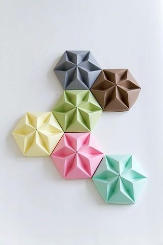 Origami Ceiling Roses - Studio Snowpuppe