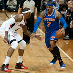 Carmelo Anthony Josh Smith