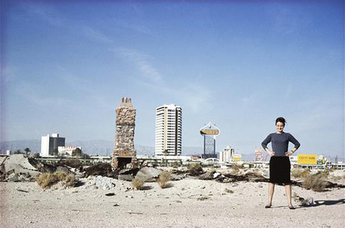 Denise Scott Brown in Las Vegas by Robert Venturi