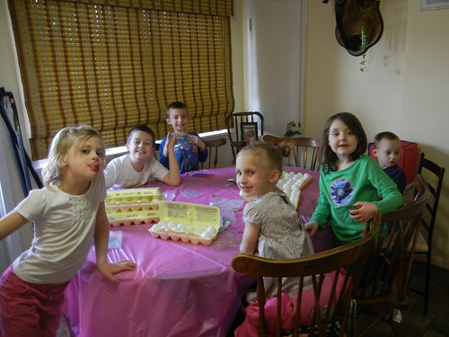 March 29 2013 Dying Easter Eggs, at the Clarks (5)