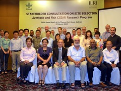 Livestock and Fish research program Vietnam site selection stakeholder meeting - group photo