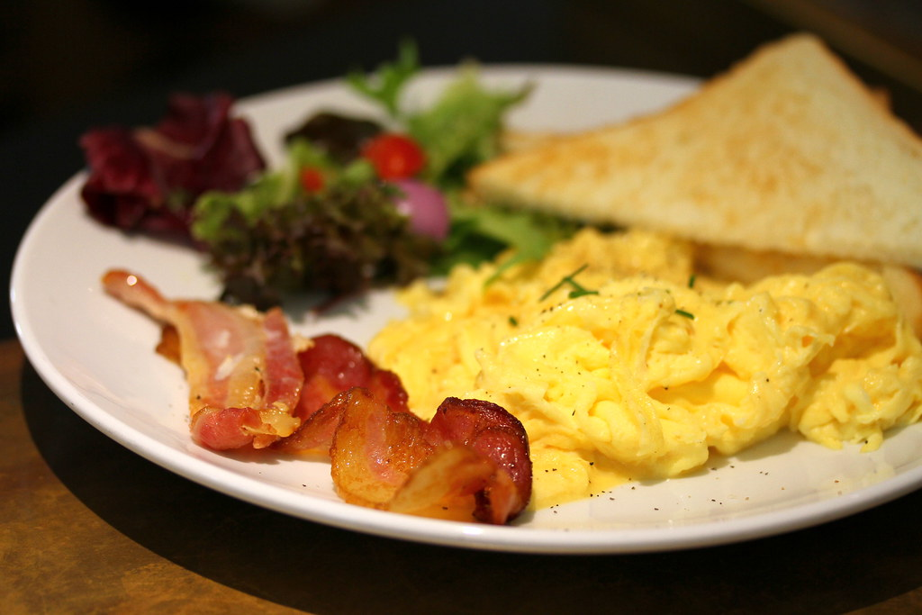 Chye Seng Huat Hardware's Scrambled Eggs with bacon