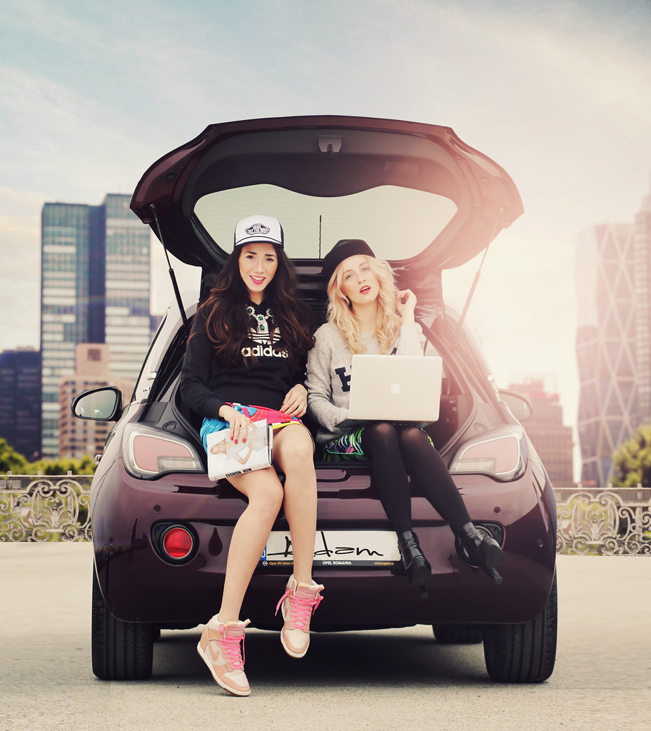Opel Adam, jojo, catalina grama, alina tanasa, diana enciu, fashion street style and fun.