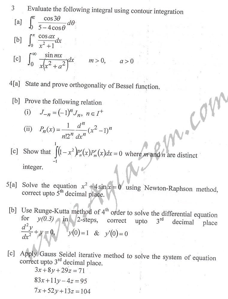 DTU Question Papers 2010 – 4 Semester - End Sem - EE-213
