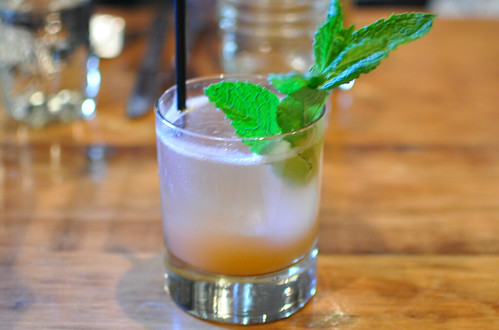 buggy whip punch aviation gin, lemon, mint, cucumber, angostura bitters, soda