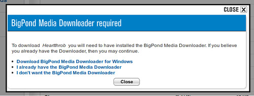 Bigpond Music - Windows only downloader