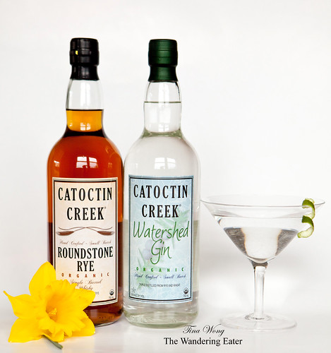 Catoctin Creek Watershed Gin & Roundstone Rye