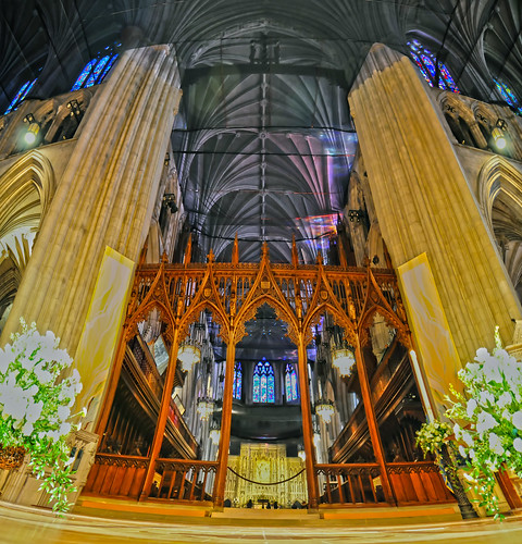 interior of a national cathedral gothic classic architecture by DigiDreamGrafix.com
