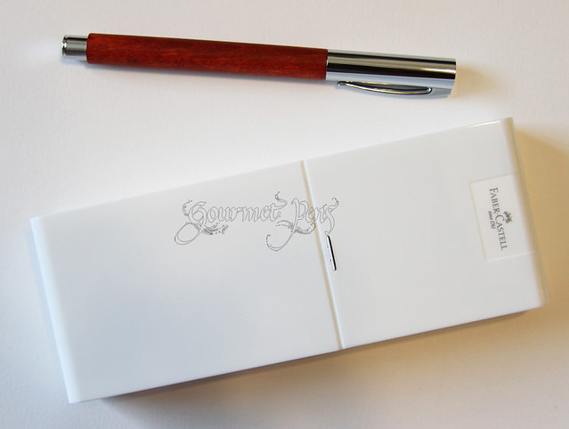 Faber-Castell Ambition Pearwood Fountain Pen - Fine
