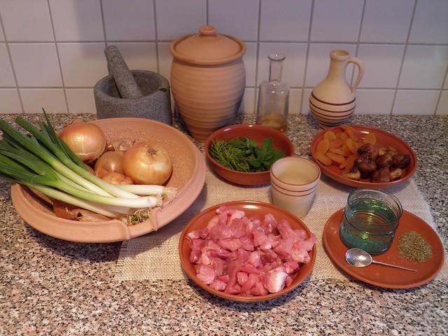 Minutal ex Praecoquis (Apricot Ragout) - recipe
