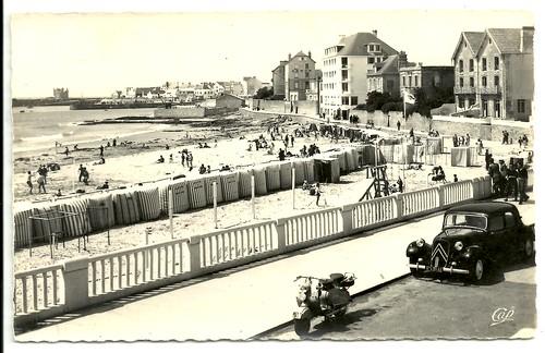 quiberon - un coin de la plage by hansaviertel