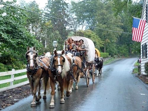 Carruajes amish conducidos por mujeres (Lancaster County)