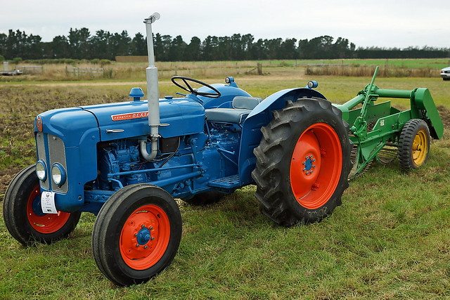 1961 Fordson Dexta Tractor : Fordson dexta mid canterbury vintage machinery