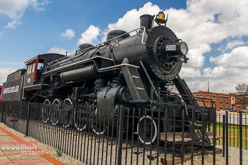 Gainesville Midland Railroad Engine 209