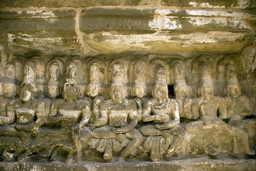Rajasimheshwaram, or Kailasanathar Temple, Kanchipuram, Tamil Nadu