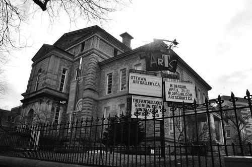 Antiguo edificio del Juzgado, hoy un centro de Arte