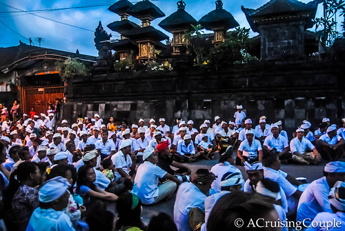 Barong Dance Crowd