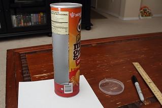 DIY: Pringles Can Strip Light