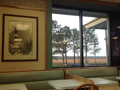 View of marsh from McDonald's Chincoteague