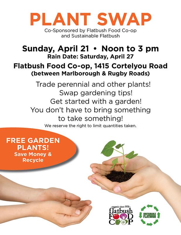 2013 Plant Swap Flyer