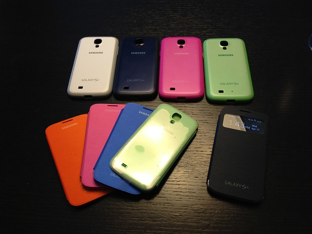 Samsung Galaxy S4 case options