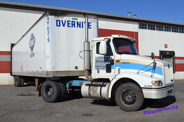 Ups Freight Ex Motor Cargo International 9100 Flickr