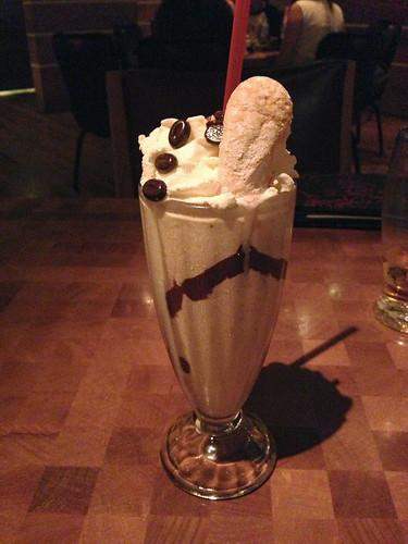 Tiramisu Milkshake at Holstein's (Las Vegas, NV)
