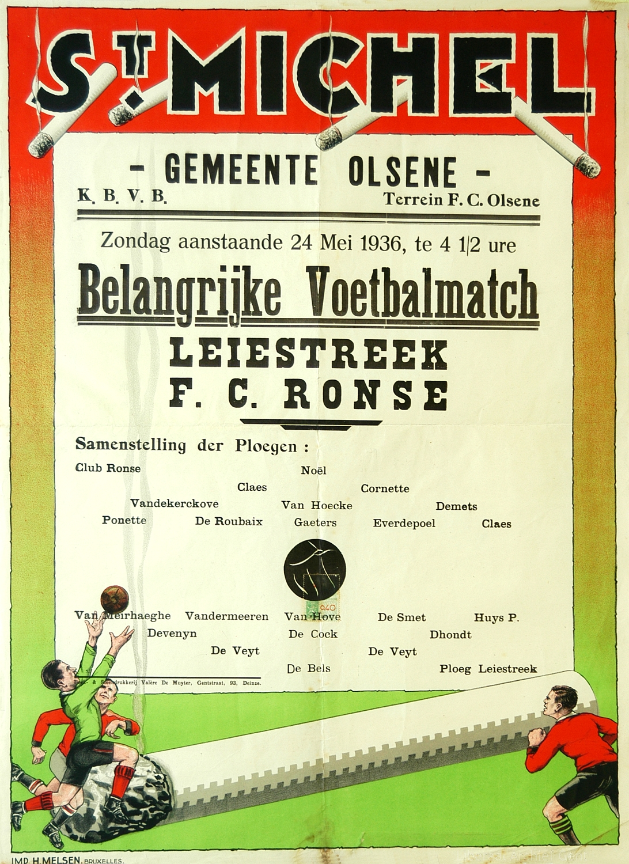 Voetbal, 1936